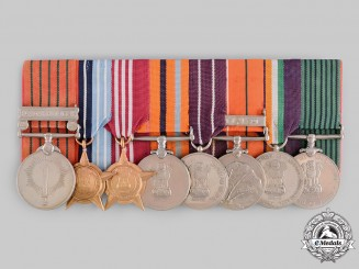 India, Republic. An Indo-Pakistani Campaign Group, Rifleman Harku Pun, 4th Gorkha Rifles