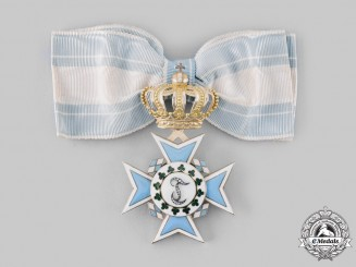 Bavaria, Kingdom. An Order of Theresa in Gold with Diamonds, c. 1890