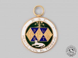 Equatorial Guinea. A Medal for Civil Merit for Work, I Class