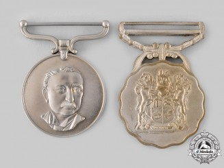 Rhodesia, Republic; South Africa, Republic. Two Medals