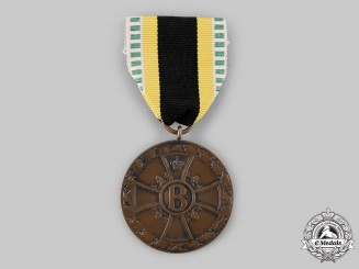 Saxe-Meiningen, Duchy. A Medal for Merit in War, c.1915