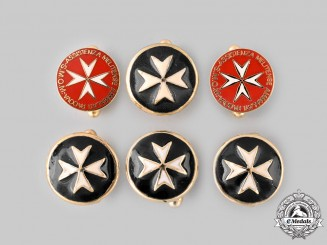 International. Six Order of Saint John Cufflinks