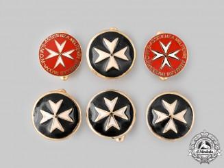 International. Six Order of Saint John Cufflinks