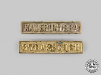 Prussia, Kingdom. A Pair of Medal Combat Clasps