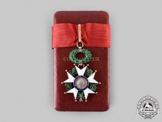 France, V Republic. A Legion of Honour, Commander with Case, c. 1970