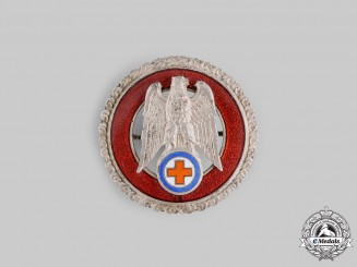 Slovakia, Republic. A Slovak Red Cross Honour Badge for Ten Years' Exemplary Service
