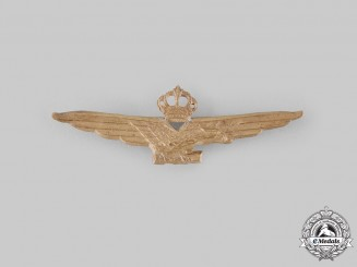 Italy, Kingdom. A Royal Italian Air Force Fascist Pilot Badge, c.1942