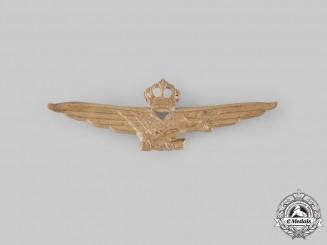 Italy, Kingdom. A Royal Italian Air Force Fascist Pilot Badge, c.1942