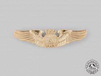 El Salvador, Republic. An Air Force Pilot Badge, by N.S.Meyer, c.1985