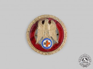 Slovakia. A Red Cross Honour Badge for Five Years' Exemplary Service
