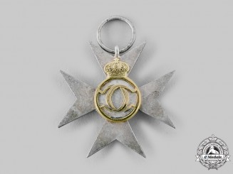 Romania, Kingdom. A Long Service Decoration for 25 Years, Type II