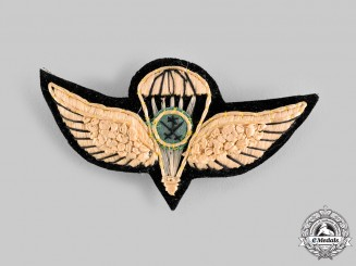 Saudi Arabia, Kingdom. A Parachutist Badge