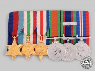 Canada. A Second War Veteran's Group of Six