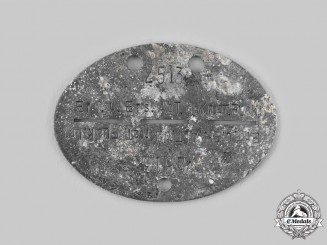 Croatia, Indpendent State. An Anti-Aircraft Identification Tag, c.1941