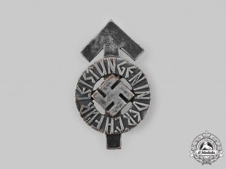Germany, HJ. A Proficiency Badge in Silver