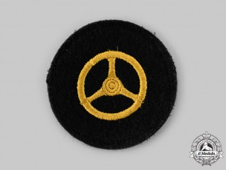 Germany, Kriesgmarine. A Motor Transport Arm Patch