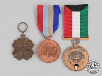 Congo, Democratic Republic; Kuwait, State; Nigeria, Federal Republic. Three Awards