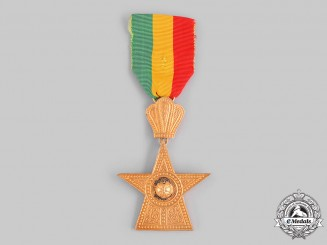 Ethiopia, Empire. An Order of the Star of Ethiopia, IV Class Knight, by B.A.Sevadjian