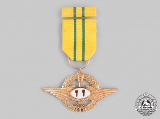 China, Republic (Taiwan). An Air Force Awe-Inspiring Medal, II Class