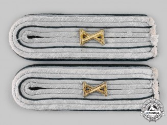 Germany, Heer. A Pair of Army Administrative Shoulder Boards
