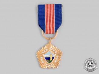 China, Republic (Taiwan). A Naval Brilliance Medal