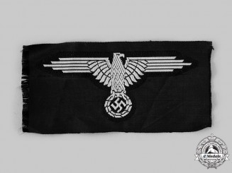 Germany, SS. An EM/NCO Uniform Sleeve Eagle