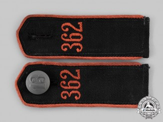 Germany, HJ. A Set of Bann 362 Shoulder Straps