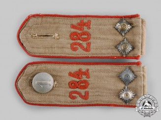 Germany, HJ. A Set of Scharführer Bann 284 Shoulder Straps