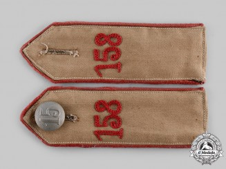 Germany, HJ. A Set of Bann 158 Shoulder Straps