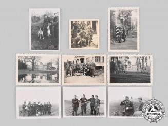 Germany, Heer. A Lot of Photographs of Personnel in France