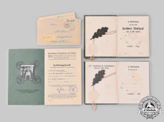 Germany, Third Reich. A Lot of Sport Documents and Correspondence