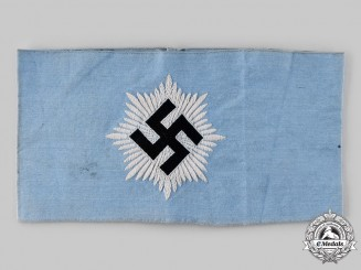 Germany, RLB. A Reich Air Protection League Armband, Second Variation