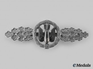 Germany, Luftwaffe. A Bomber Flight Clasp, Silver Grade, by Funcke & Brüninghaus