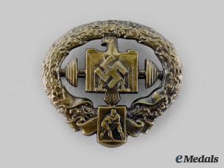 Germany, NSRL. A Heavy Athletics Badge, Bronze Grade