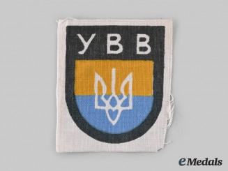Germany, Wehrmacht. A Ukrainian Liberation Army Volunteer's Sleeve Insignia