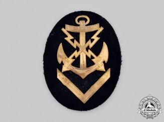 Germany, Kriegsmarine. An EM/NCO's Teletypist Specialist Insignia