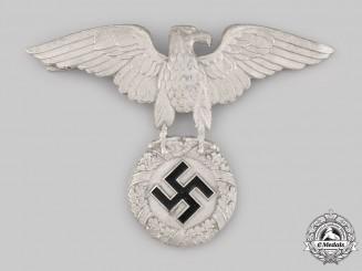 Germany, NSKK. A National Socialist Motor Corps (NSKK) Crash Helmet Eagle by Paulmann & Crone