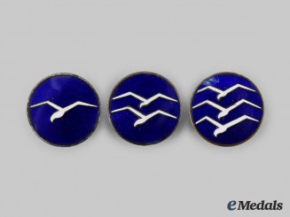 Germany, Third Reich. A Set of Civil Gliding Proficiency Badges