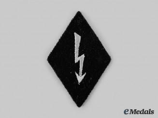 Germany, SS. An SS-Nachrichteneinheiten Staff Collar Tab