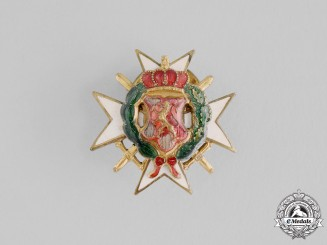 Bulgaria, Kingdom. A Military Order of Bravery, Miniature