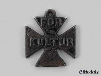 Great Britain. An Anti-German Propaganda Iron Cross Medal
