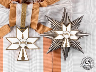 Croatia, Independent State. An Order of the Crown of King Zvonimir, Grand Cross, by Braća Knaus, c.1942