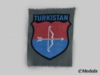 Germany, Wehrmacht. A Turkestan Legion Sleeve Shield, Second Version