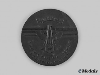 Germany, NSKK. A 1938 NSKK Brandenburg Cross-Country Drive Merit Medal