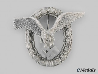 Germany, Luftwaffe. A Pilot's Badge, by Imme & Sohn
