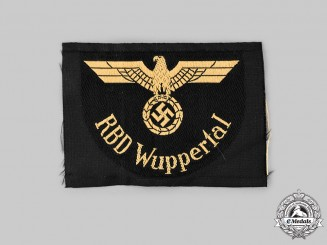 Germany, Third Reich. A Reichsbahndirektion Wuppertal Sleeve Eagle