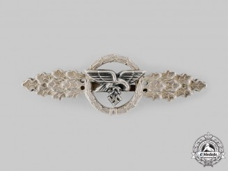 Germany, Luftwaffe. A Squadron Clasp for Transport and Glider Pilots, Silver Grade