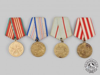 Russia, Soviet Union. A Lot of Four Medals & Awards