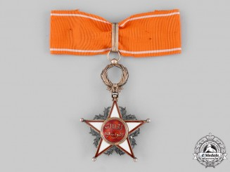 Morocco. An Order of Ouissam Alaouite, III Class Commander, c.1945