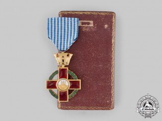 San Marino, Republic. A Red Cross Order of Merit, by S. Johnson ROMA